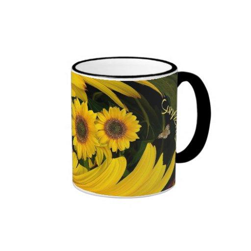 Sonnenblumestrudel ~ Wecker-Kaffee-Tasse