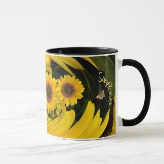 Sonnenblumestrudel ~ Wecker-Kaffee-Tasse Tasse