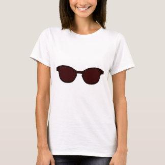 Sonnenbrille-Brown-Kante-Brown-Linse das MUSEUM T-Shirt