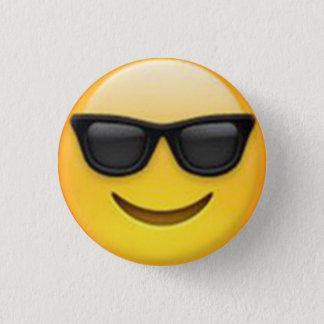 Sonnenbrille Emoji Knopf Runder Button 2,5 Cm