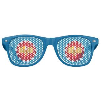 Sonnenbrille Freiheits-Eagles (blau) -