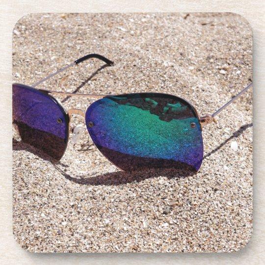 Sonnenbrille Getränkeuntersetzer