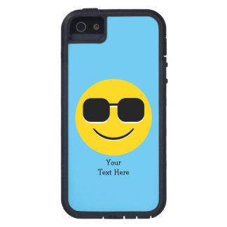 Sonnenbrille-Herr Cool Emoji Hülle Fürs iPhone 5