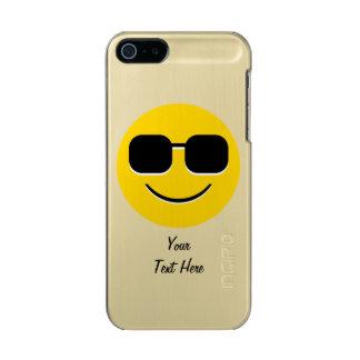 Sonnenbrille-Herr Cool Emoji Incipio Feather® Shine iPhone 5 Hülle