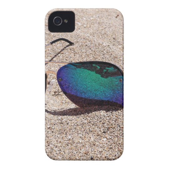 Sonnenbrille iPhone 4 Cover