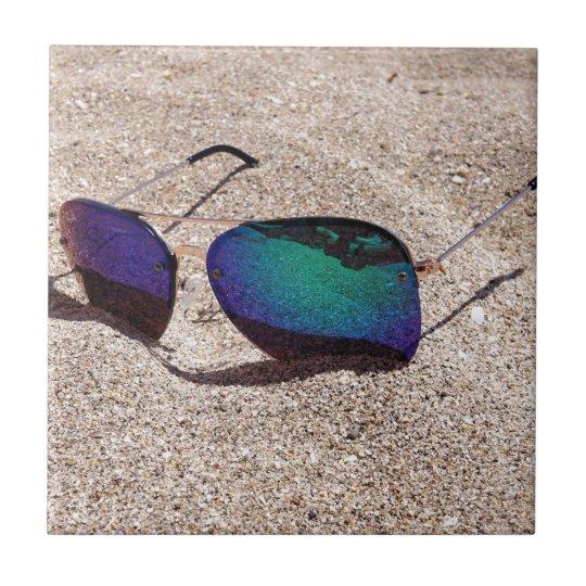 Sonnenbrille Keramikfliese