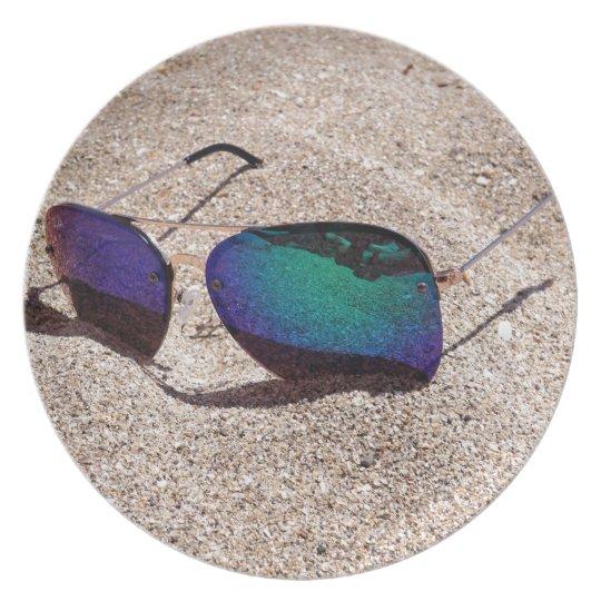 Sonnenbrille Melaminteller