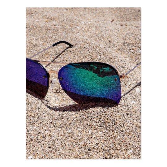 Sonnenbrille Postkarte