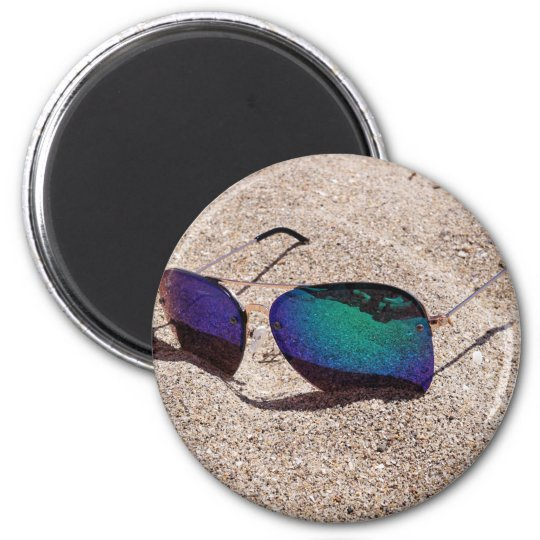 Sonnenbrille Runder Magnet 5,1 Cm