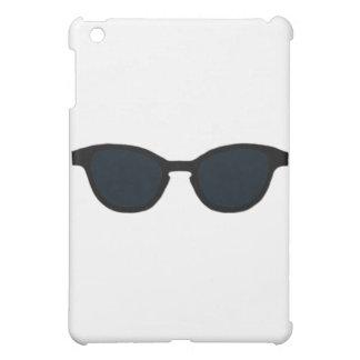 Sonnenbrille-schwarze Kante-Schwarz-Linse das Hülle Für iPad Mini