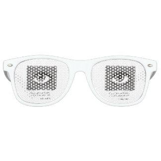 Sonnenbrillemodeaugen-Zitatkunst Sonnenbrille