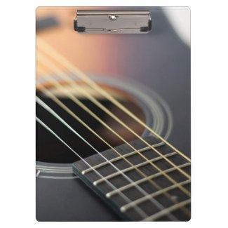 Sonnendurchbruch-Gitarren-Nahaufnahme