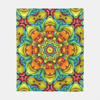 Sonnendurchbruch-   Kaleidoskop-Fleece-Decken, 3 Fleecedecke