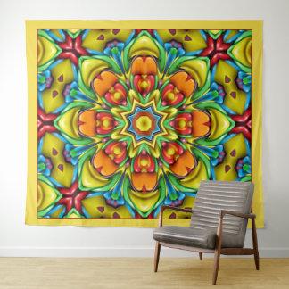 Sonnendurchbruch-Vintage Wandteppich