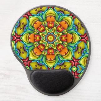 Sonnendurchbruch-Vintages Kaleidoskop-Gel Mousepad