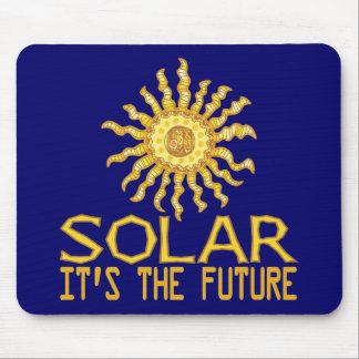 Sonnenenergie-Zukunft Mauspad