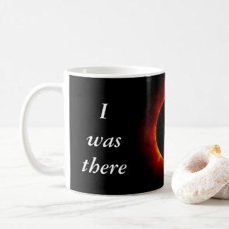 """Sonnenfinsternis 2017 """"ich war dort"""" Ausgabe Kaffeetasse"""