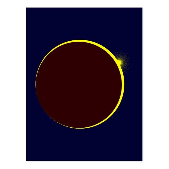 Sonnenfinsternis Eclipse Postkarte