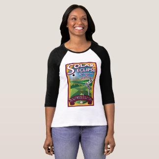 Sonnenfinsternis-Kreuzungen von Amerika-T-Shirt T-Shirt
