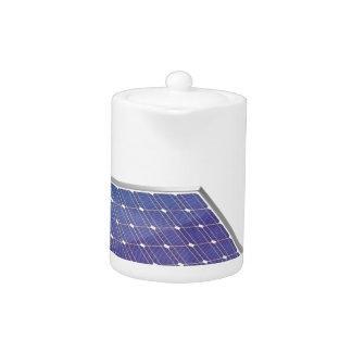 Sonnenkollektor und Glühlampe