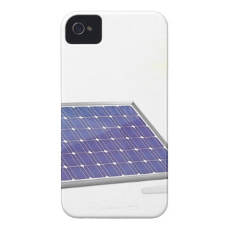 Sonnenkollektor und Glühlampe iPhone 4 Hüllen
