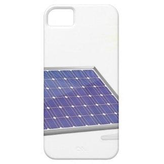 Sonnenkollektor und Glühlampe iPhone 5 Hülle