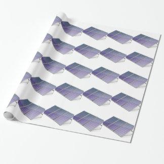 Sonnenkollektoren Geschenkpapier
