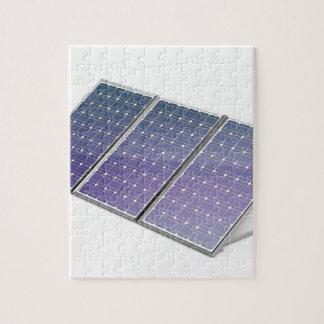 Sonnenkollektoren Puzzle