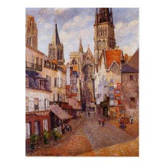 Sonnenlicht, Nachmittag, La-Rue de L'Epicerie, Postkarte