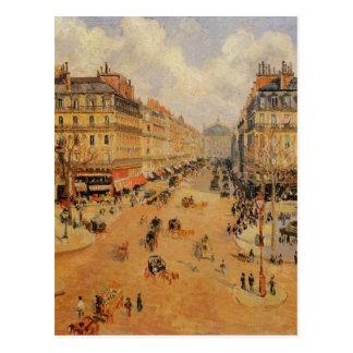 Sonnenschein Alleende L'Opera Morning durch Postkarte
