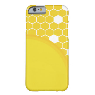 Sonnenschein-Bienenwabe Barely There iPhone 6 Hülle