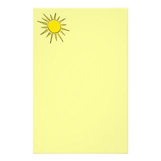 Sonnenschein Briefpapier