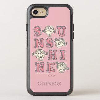 Sonnenschein-Buchstaben OtterBox Symmetry iPhone 8/7 Hülle