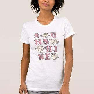 Sonnenschein-Buchstaben T-Shirt