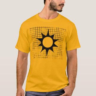 Sonnenschein-Emblem-Gold 3 T-Shirt