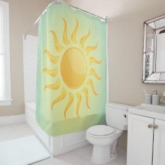 Sonnenschein-Entwurfs-Duschvorhang Duschvorhang