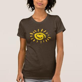 Sonnenschein-Herz-Shirt T-Shirt