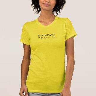 Sonnenschein ist das freie Gluten T-Shirt