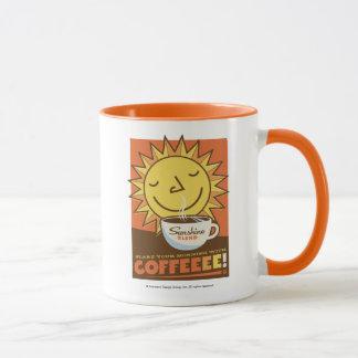 Sonnenschein-Mischungs-Kaffee Tasse