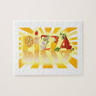 Sonnenschein-Pizza Puzzle