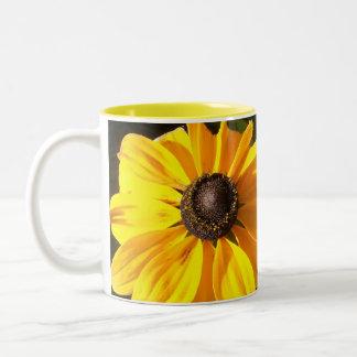 Sonnenschein-Sonnenblumen Kaffeetassen