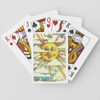 Sonnenschein-Spielkarten Spielkarten