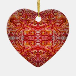 Sonnenschein-Strudel Keramik Ornament