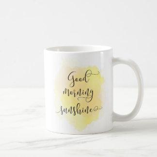 Sonnenschein-Tasse des gutenmorgens Tasse