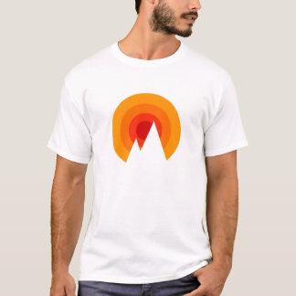 Sonnenschein u. Berge T-Shirt
