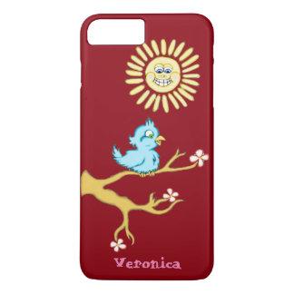 Sonnenschein und Drossel iPhone Fall iPhone 8 Plus/7 Plus Hülle