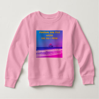 Sonnenschein und Salzwasser Sweatshirt