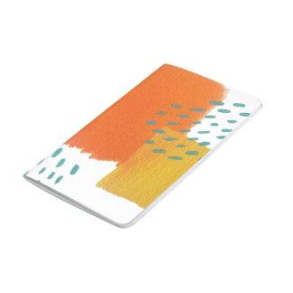 Sonnenseite-oben gemaltes Notizbuch