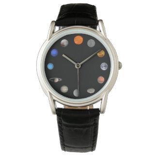 Sonnensystem Armbanduhr