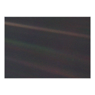 Sonnensystem-Porträt - Erde als 'hellblaues Dot Poster